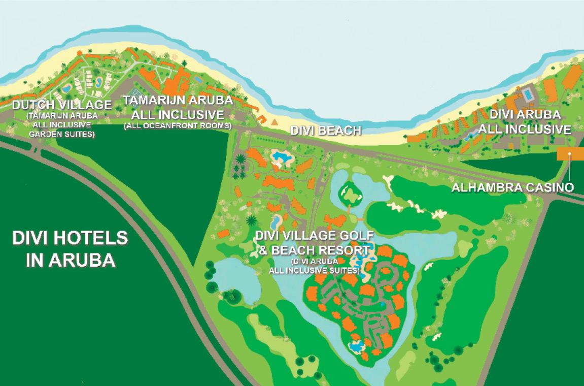 Alhambra Casino Map